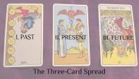 Three Card Spread Tarot Card Reading Instructions