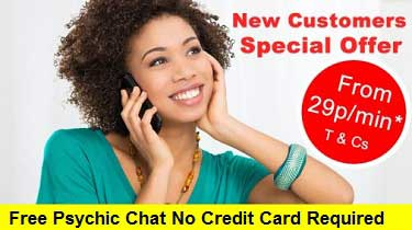 Free Psychic Chat No Credit Card Required - NOW Updated!