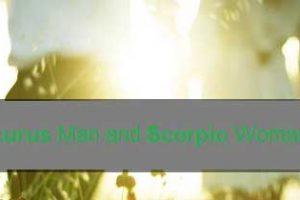 Taurus and Scorpio | Taurus and Scorpio Compatibility